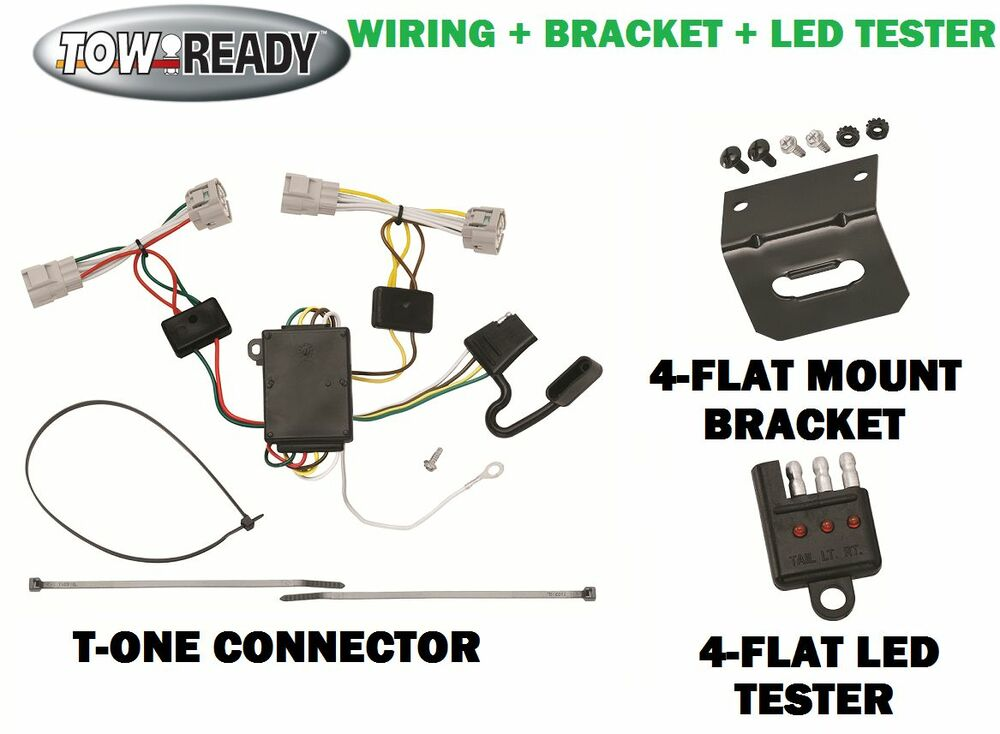 Trailer Wiring Harness For 2004 Toyota Tacoma : Toyota tacoma trailer wiring harness diagram