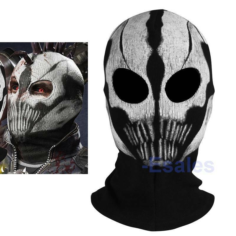 New Call of Duty COD Commander Elias Balaclava Ghost Mask ...