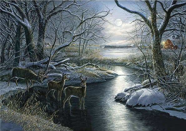 James meger quot a silent night quot signed limited edition print ebay