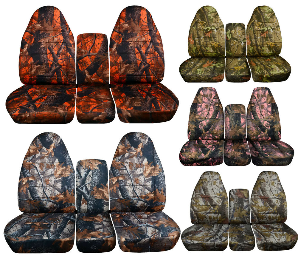 Front Rear 1994 2002 Dodge Ram 40 20 40 Camouflage Seat