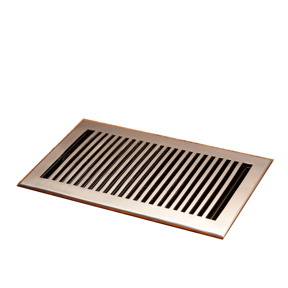 Naiture Solid Brass Floor Register Modern Style In 8 Sizes