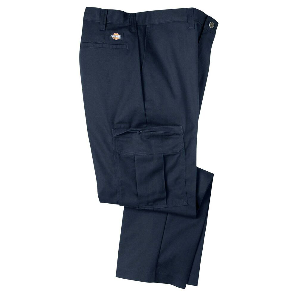 dickies mens big tall size 30 60 industrial cargo twill work pants 34 36 inseam ebay. Black Bedroom Furniture Sets. Home Design Ideas