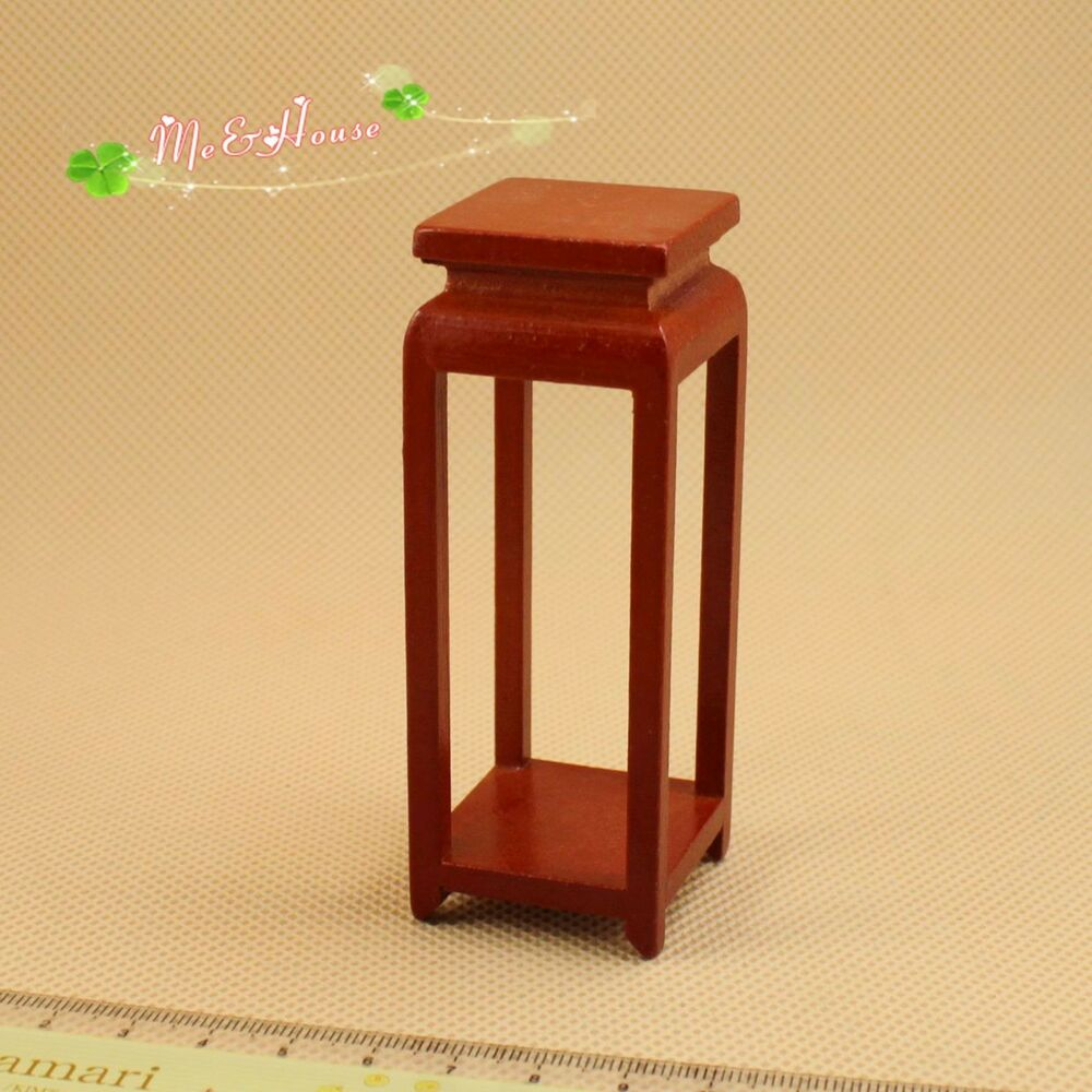 1 12 Dollhouse Miniature Furniture Wood Chinese High Side Tea Table 20010 3 Ebay
