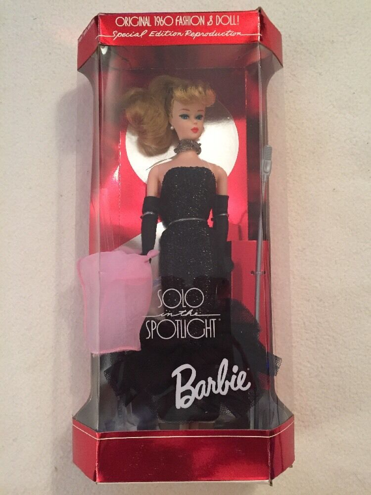 New Solo In The Spotlight Barbie Reproduction Original 1960 Fashion Amp Doll Nib Ebay