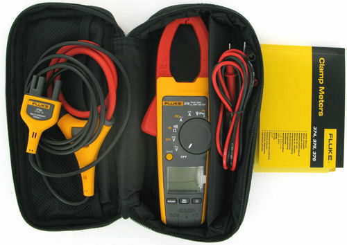 Fluke 376 Clamp Meter Ac Dc : Fluke true rms ac dc clamp meter with iflex new