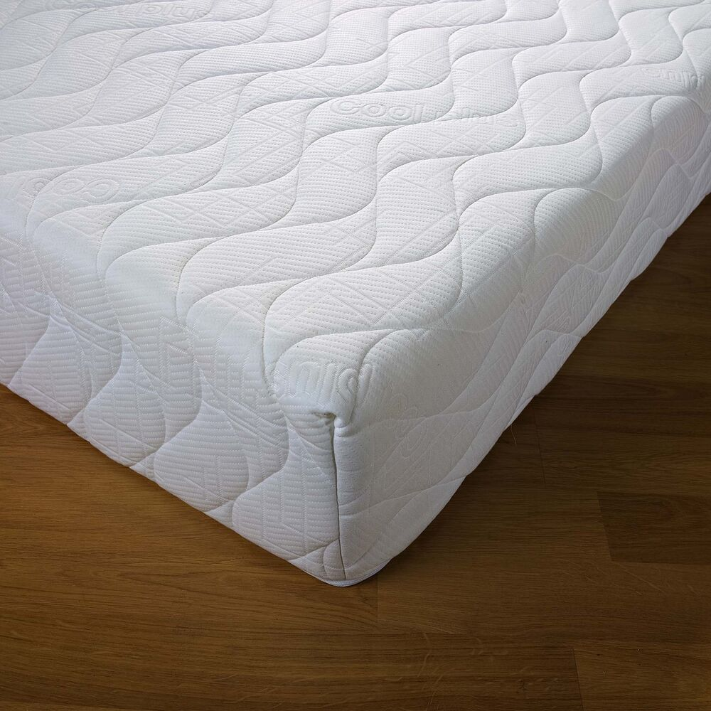 Orthoapedic Reflex Memory All Foam 6 Mattress 5 1 Free Memory Foam Pillows Ebay