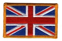 UNION JACK FLAG PATCH BADGE IRON ON NEW EMBROIDERED