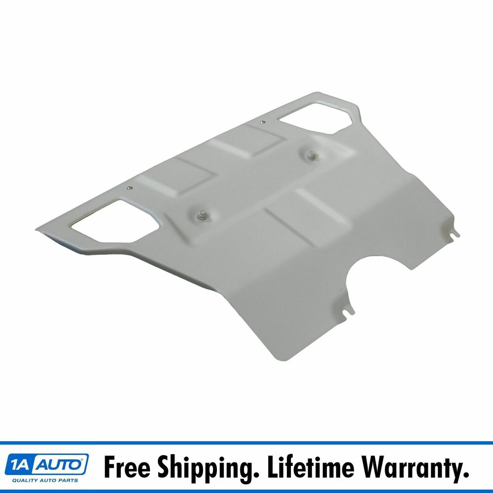 Oem Skid Plate Silver Front For 05 14 Toyota Tacoma