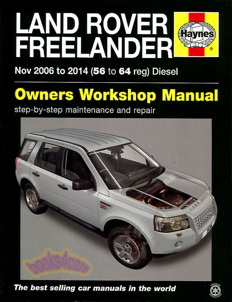 Freelander Shop Manual Land Rover Service Repair Book