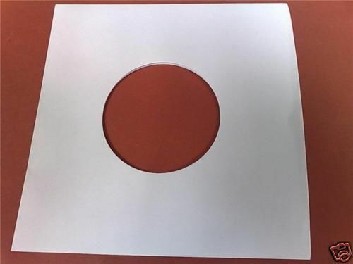 12 Quot Inch Vinyl Record White Paper Inner Covers Sleeves 10
