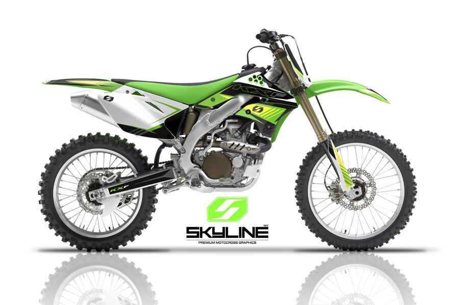2006 2007 2008 kxf 250 graphics kit kawasaki kx250f kx f 250f deco mx decals ebay