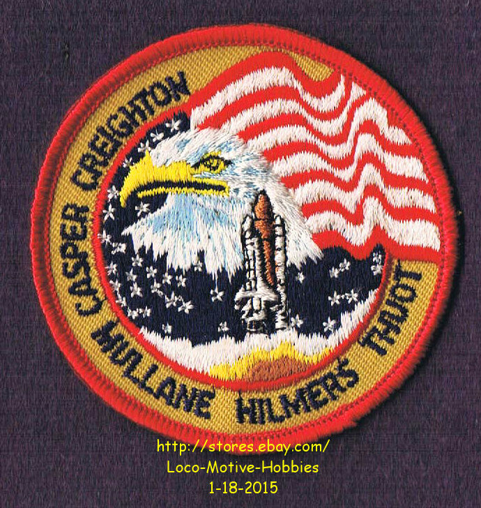LMH PATCH Badge NASA SPACE SHUTTLE Atlantis 1990 STS-36 ...