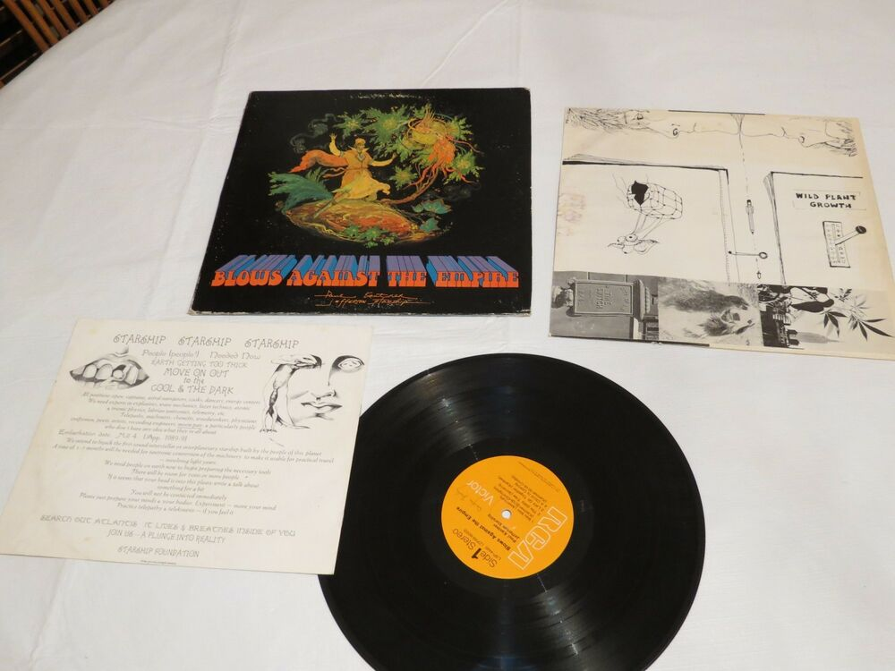 Blows Against The Empire Jefferson Starship Lsp4448 Lp