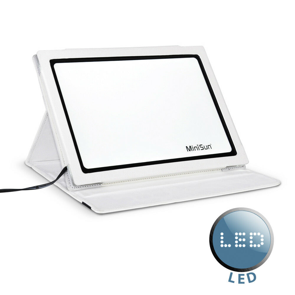 led sad light pad box simulated daylight therapy sun light lamp ebay. Black Bedroom Furniture Sets. Home Design Ideas