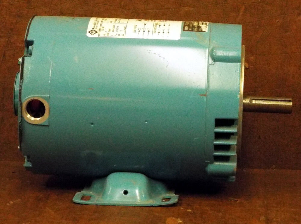 1 Used Franklin Electric 1303017102 1 Hp Motor Make Offer
