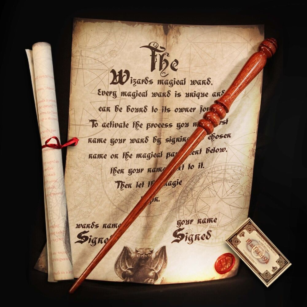 2015 harry potter style real magic wand handcrafted in for Real elder wand