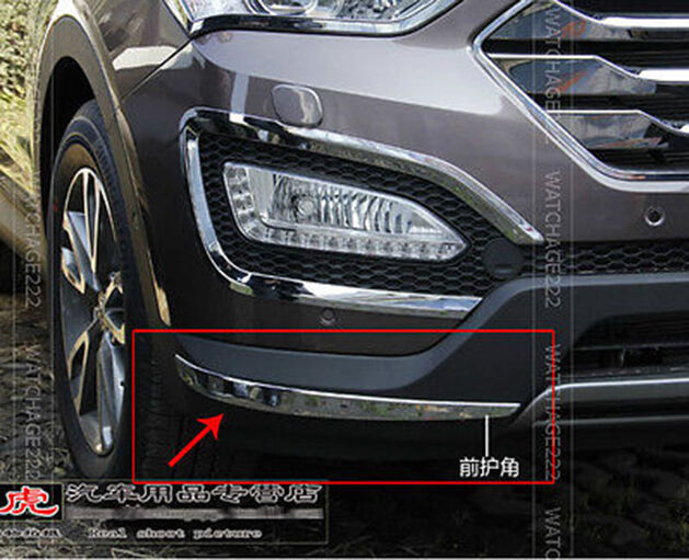 For 2013 Hyundai Santa Fe Ix45 Front Bumper Chrome Cover