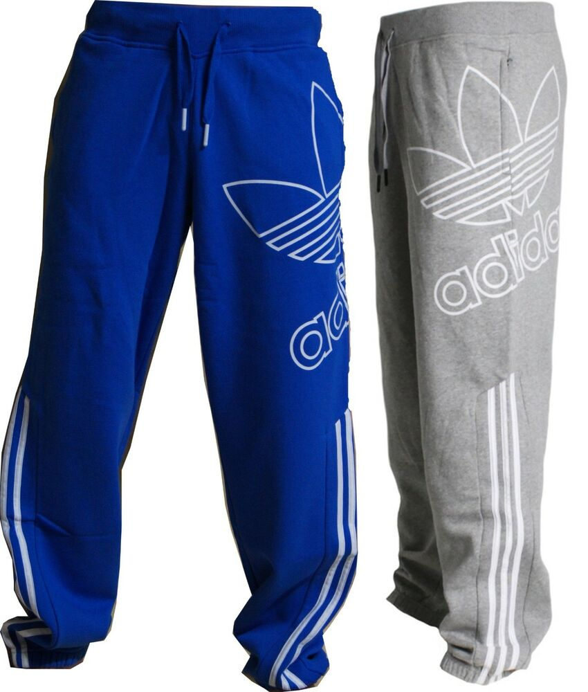 adidas herren jogginghose fleece trainingshose originals sporthose xs s m l xl ebay. Black Bedroom Furniture Sets. Home Design Ideas