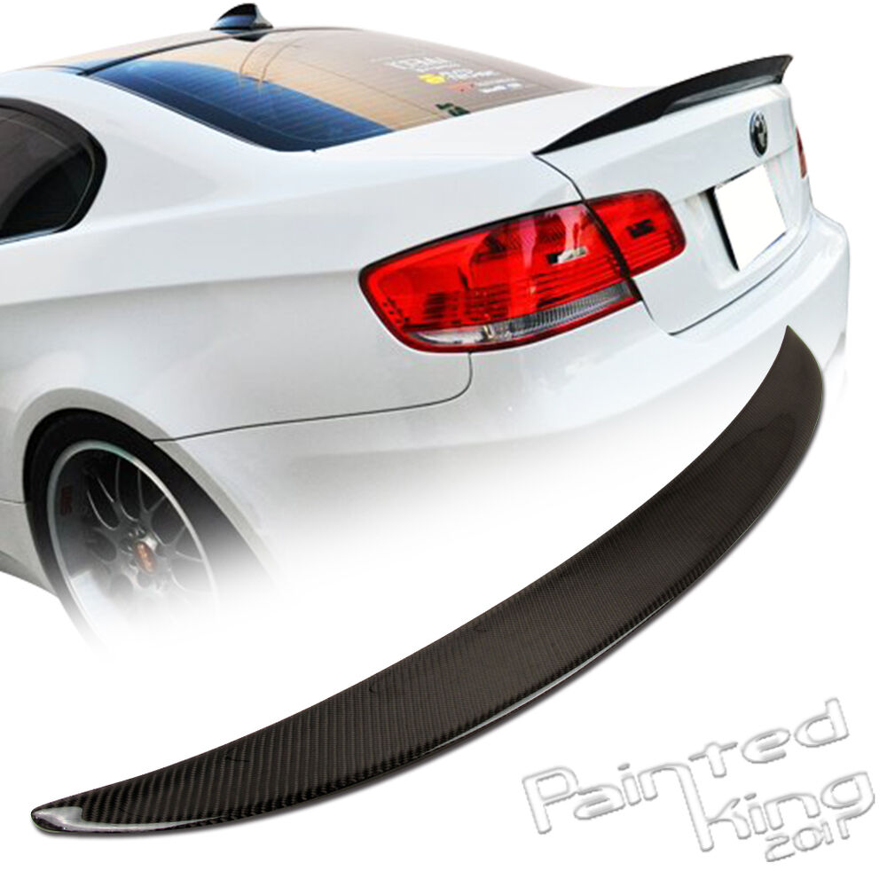 bmw e92 performance p type higher trunk spoiler carbon. Black Bedroom Furniture Sets. Home Design Ideas