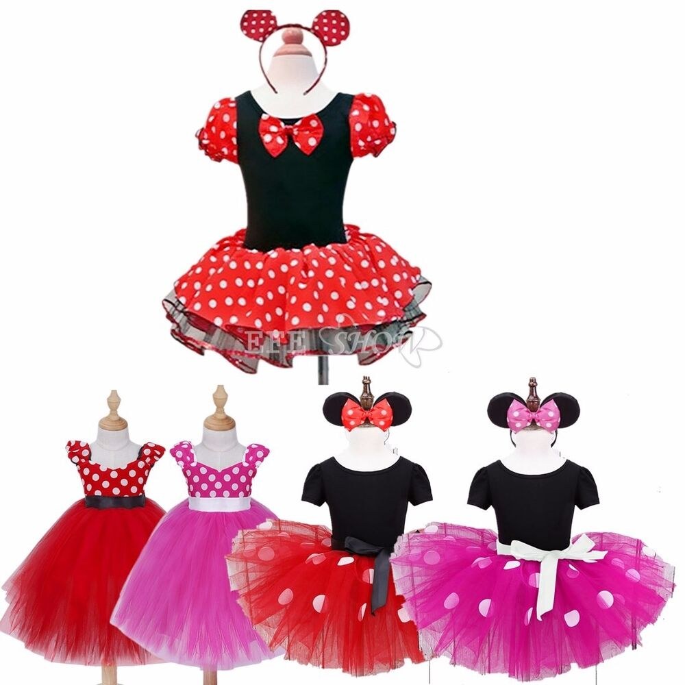 baby toddler minnie mouse costume