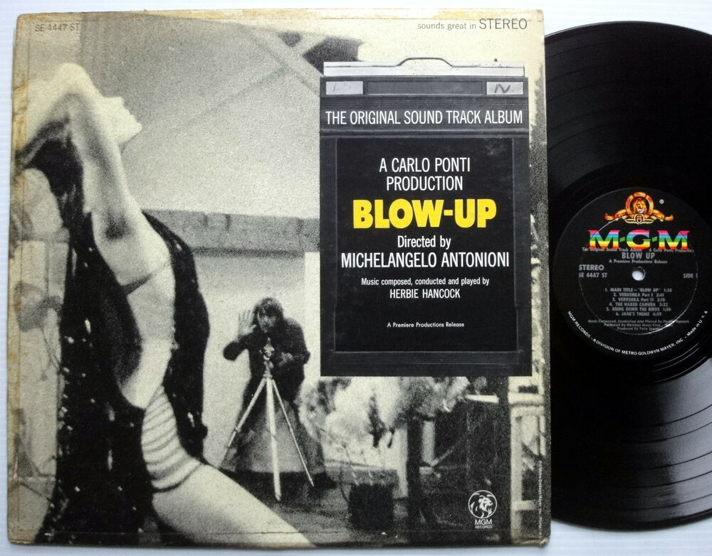 Blow Up Soundtrack Lp Herbie Hancock Ebay