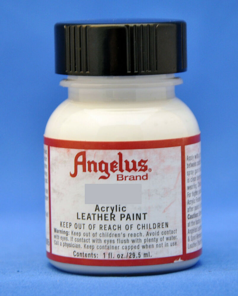 Leather Sofa Paint Kit: Angelus Acrylic Paint, Leather Sneaker,Shoe,Boot Paint