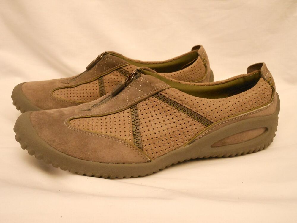 privo by clarks s gray suede shoes 9m ebay