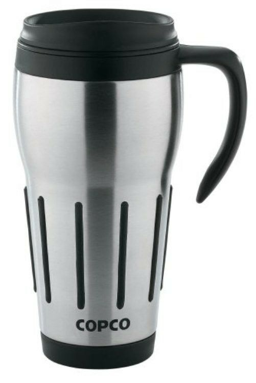 new thermal travel mug coffee cup 24 oz stainless steel mugs ebay. Black Bedroom Furniture Sets. Home Design Ideas