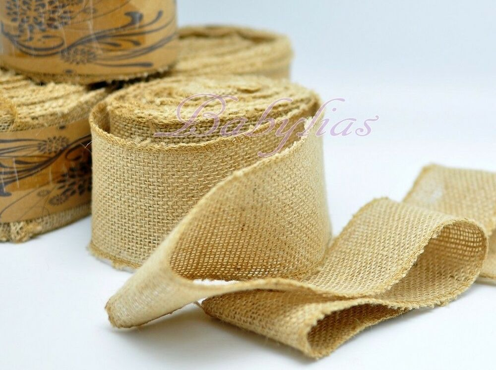 2 5 wide natural burlap fabric jute rustic wedding for What is burlap material