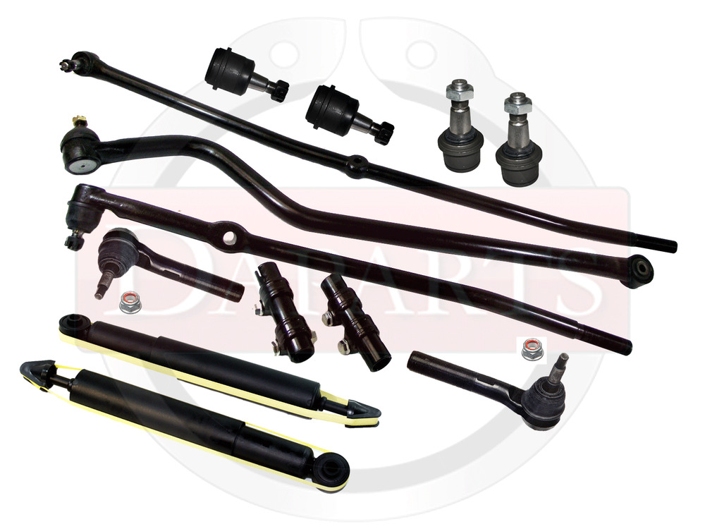 DODGE Ram 2500 4WD Front Suspension Parts Track Bar Center ...