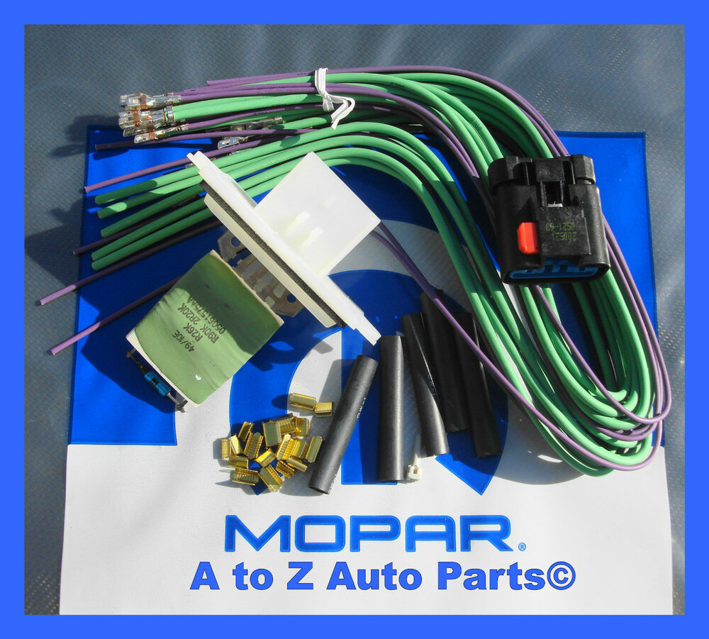 sony wiring harness to ford new dodge dakota, durango heater / ac blower motor ...