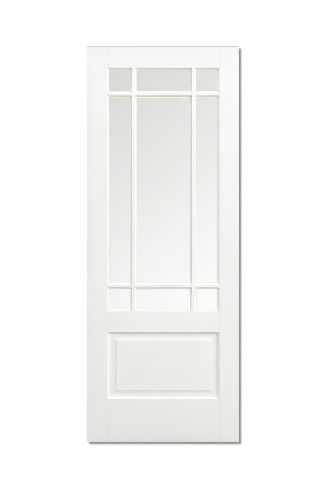 Solid White Primed Downham Internal Interior Door 9