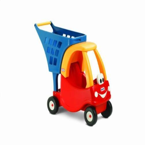 new kids little tikes cozy shopping cart red yellow toddler toy gift play childs ebay. Black Bedroom Furniture Sets. Home Design Ideas