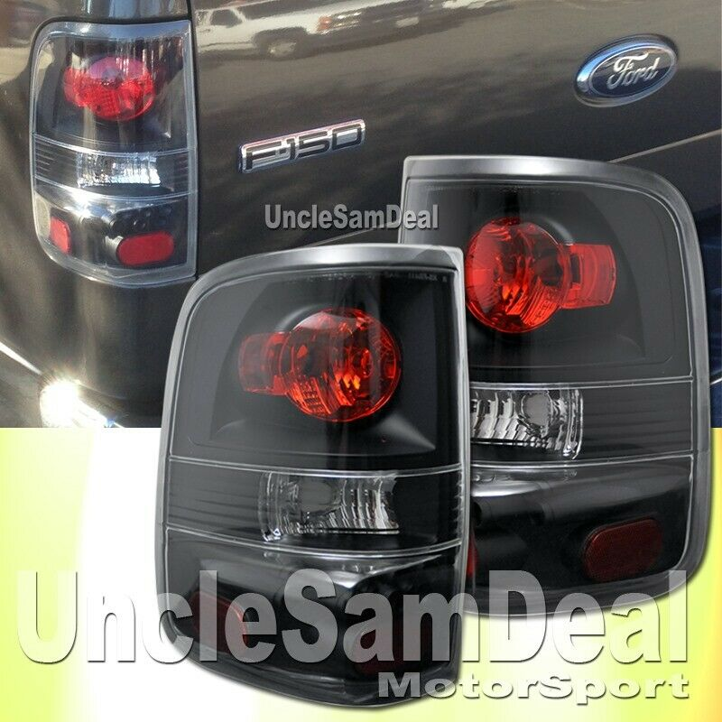 ford f150 clear lens black housing altezza tail lights. Black Bedroom Furniture Sets. Home Design Ideas