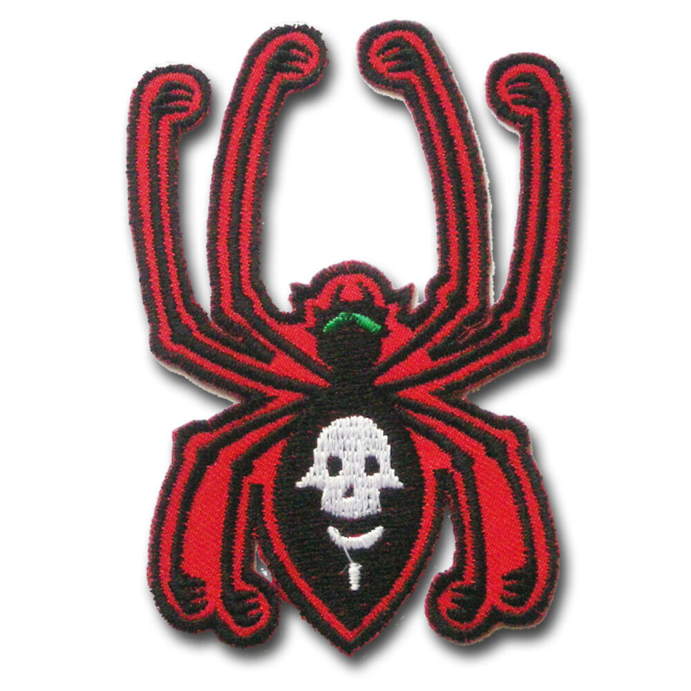 Spider Patch Iron On Charlotte Children Sew Animal Cartoon