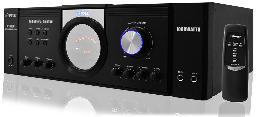 1000w 1000 watt home house digital stereo audio power amp. Black Bedroom Furniture Sets. Home Design Ideas