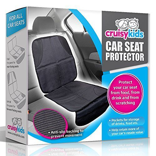 baby car seat protector by cruisy kids cover mat for under your infant seats ebay. Black Bedroom Furniture Sets. Home Design Ideas