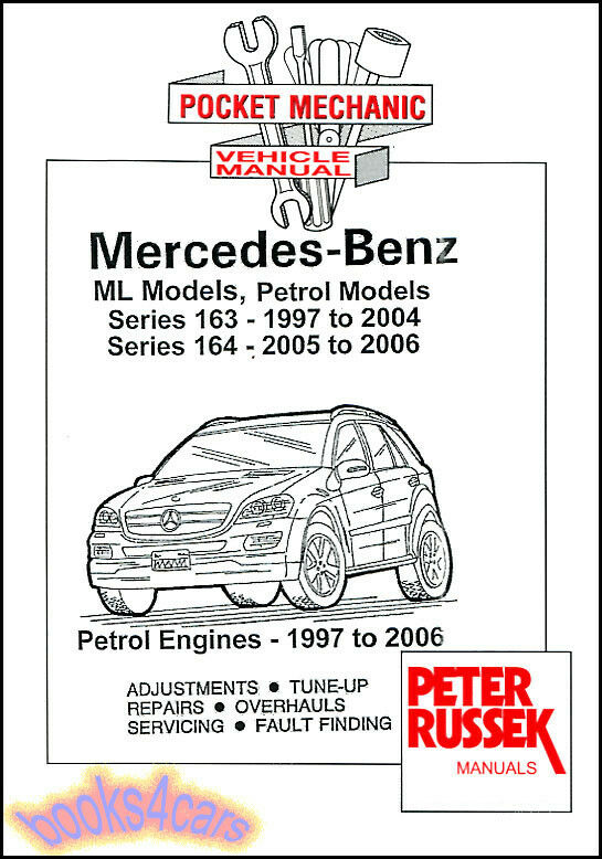 Shop Manual Service Repair Book Mercedes Ml 163 164 Ml320
