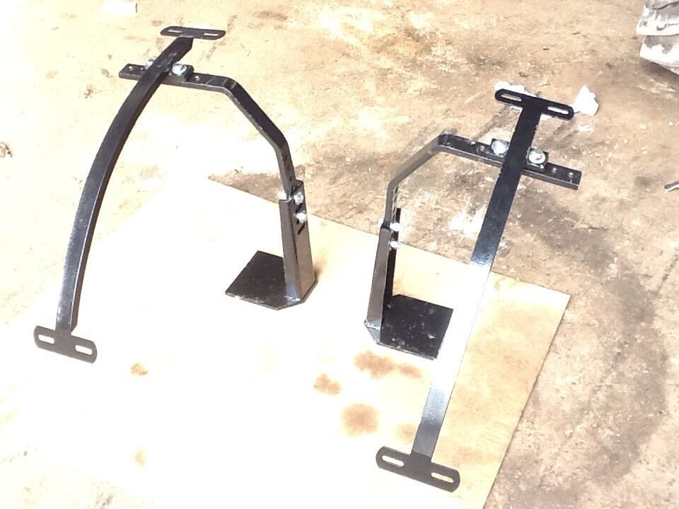 Agco Tractor Front Fenders : Universal front mudguard brackets to suit ford tractors