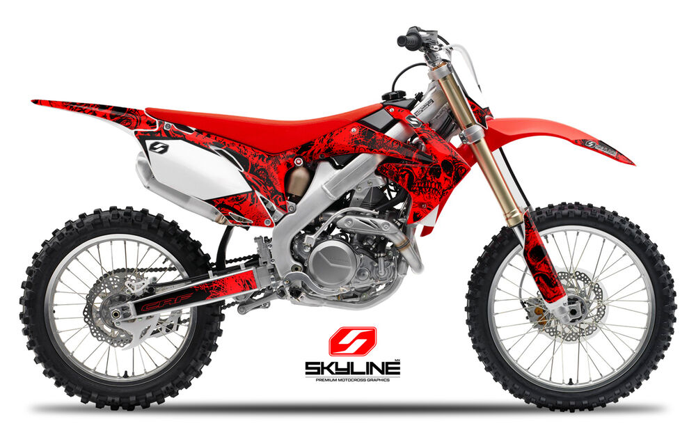 2009 2010 2011 2012 crf 450r graphics kit crf450r 450 r deco decals mx stickers ebay