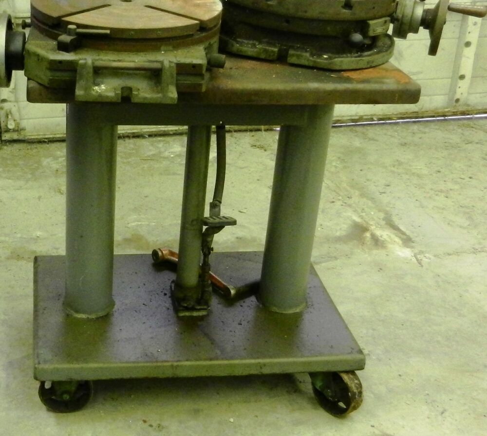 Table Hydraulic Lift Diagram : Die cart lift table hydraulic foot pump quot wvs ebay