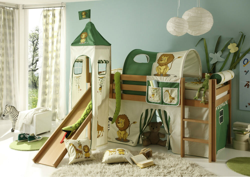 kinderhochbett snoopy leiter rutsche kinderbett. Black Bedroom Furniture Sets. Home Design Ideas