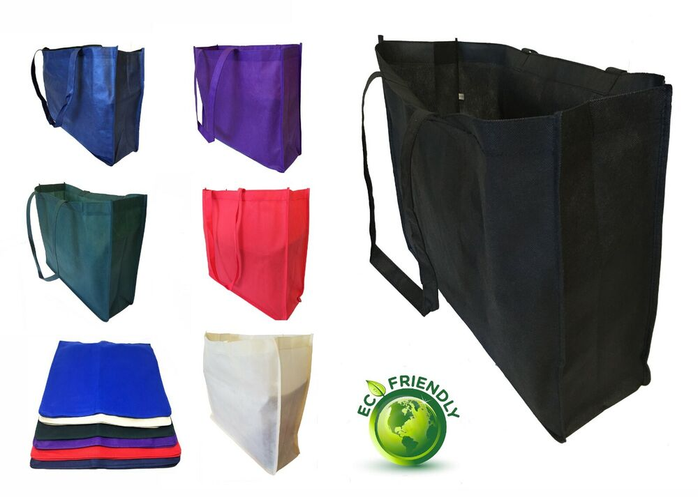Extra Large Recycled Eco Friendly Grocery Shopping Tote ...