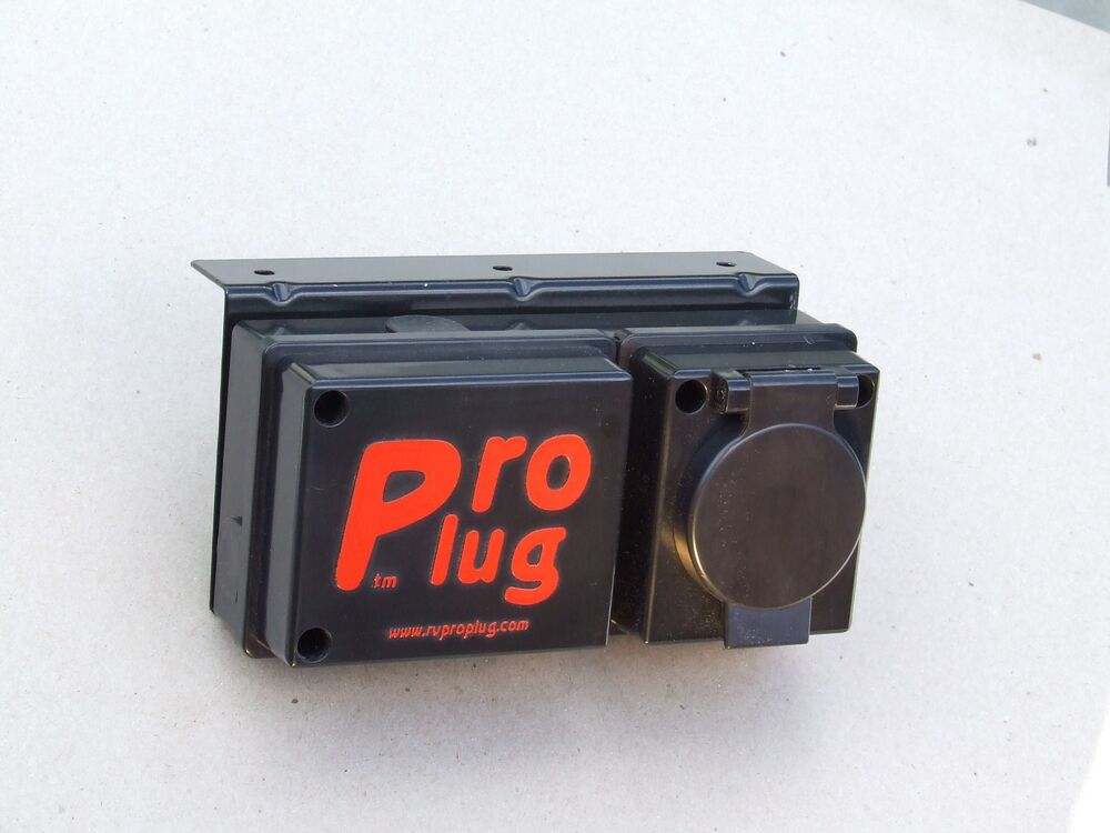 7 Pin Flat Blade Trailer Connector  Pro Plug Rv7 And Br5