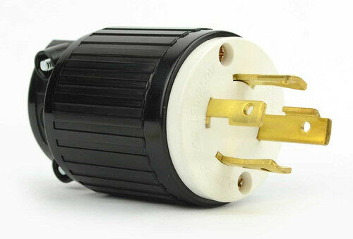 Twist Lock Electrical Plug 4 Wire 30 Amps 125 250v Nema