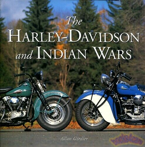 Harley davidson indian wars book girdler motorcycle for Ebay motors indian motorcycles