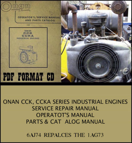 Free Onan Engine Repair Manual