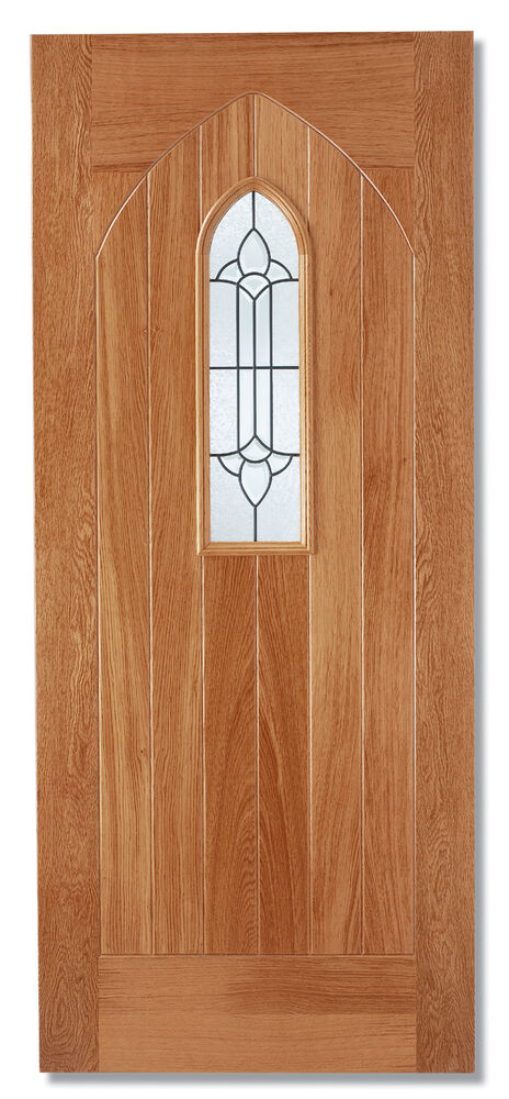 external exterior door lead double glazed wood ebay