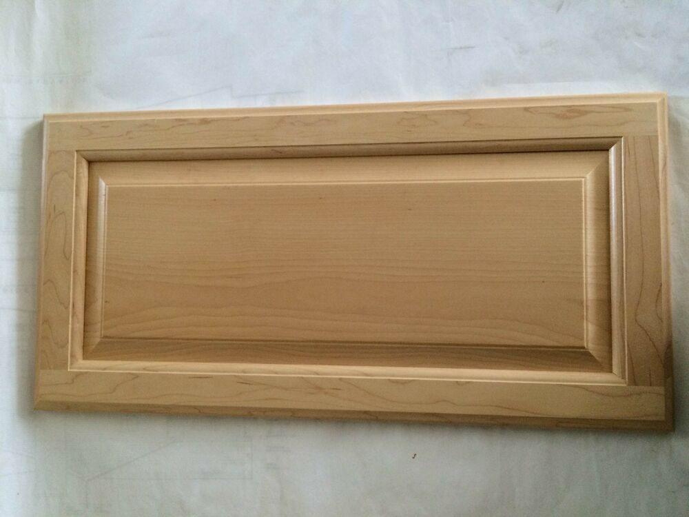 Raised Panel Maple Cabinet Doors For Kitchen Bath Refacing Ebay