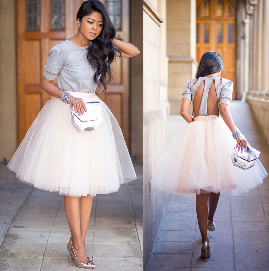 White Tulle Skirt | eBay